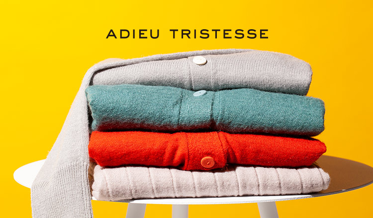 ADIEU TRISTESSE -ALL 80%OFF-