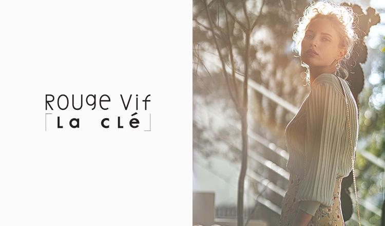 ROUGE VIF LA CLE