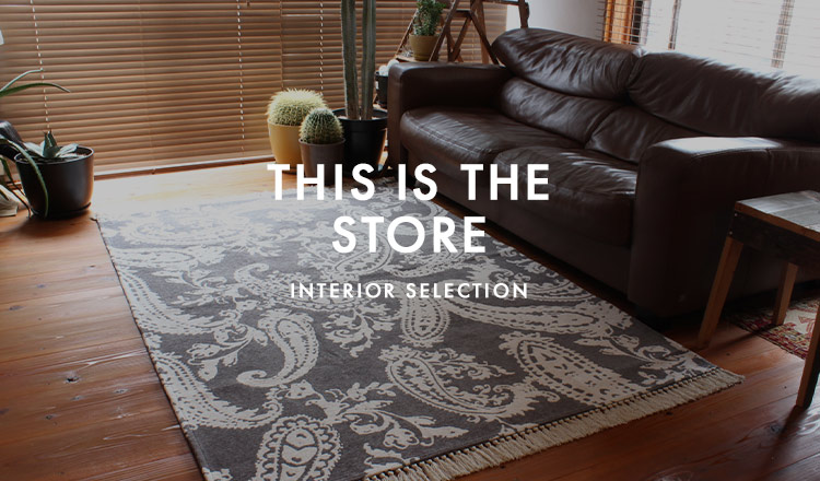 THIS IS THE STORE - INTERIOR SELECTION-