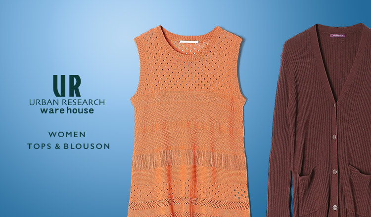 URBAN RESEARCH WAREHOUSE -WOMEN- TOPS& BLOUSON