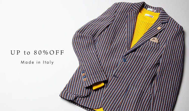 UP to 80%OFF : Made in Italy