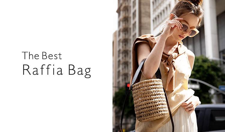 The Best Raffia Bag -最旬カゴBAG-
