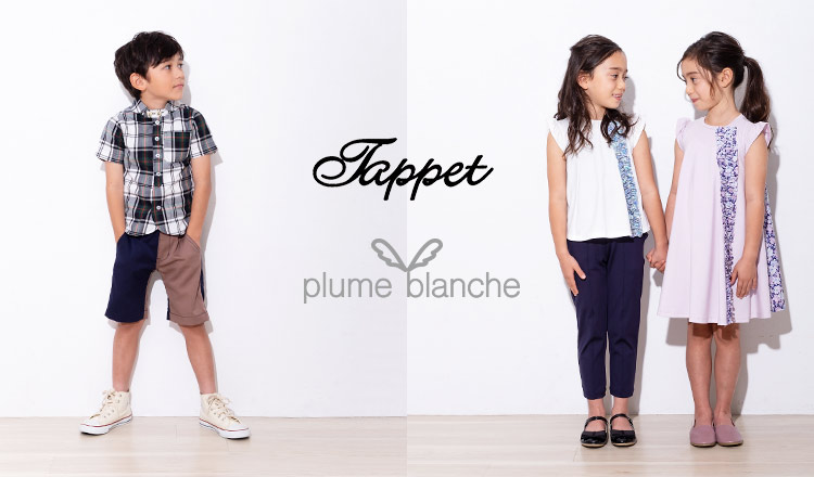 Tappet & plume blanche