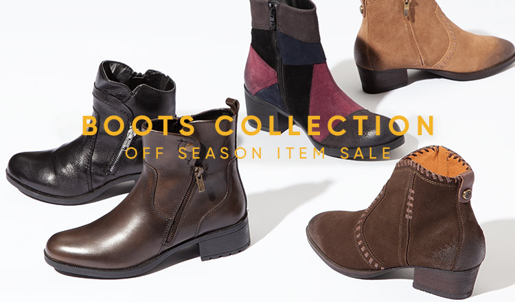 OFF SEASON BOOTS COLLECTION -MAX 90% OFF-
