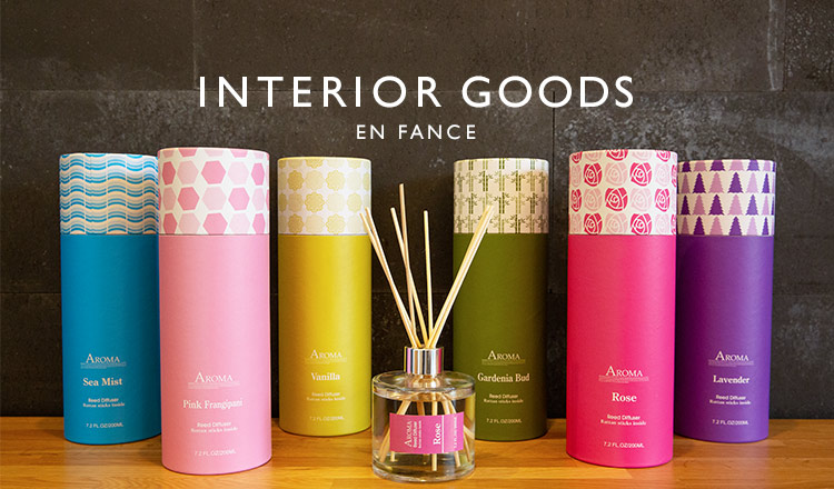 INTERIOR GOODS SELECTION-EN FANCE