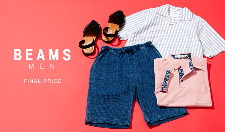 BEAMS MEN:Final Price
