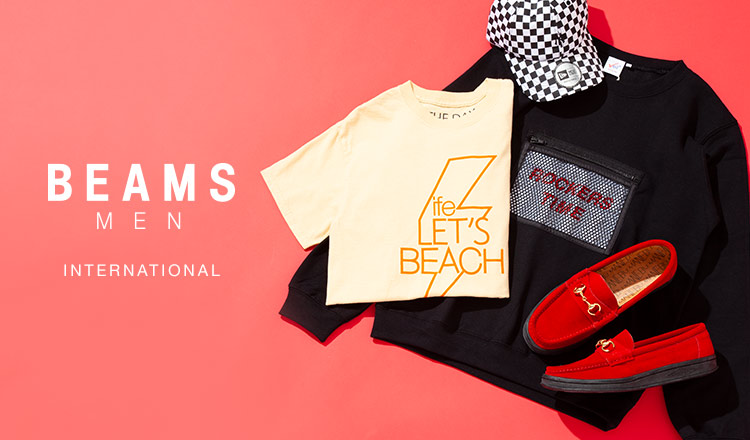 BEAMS MEN:International