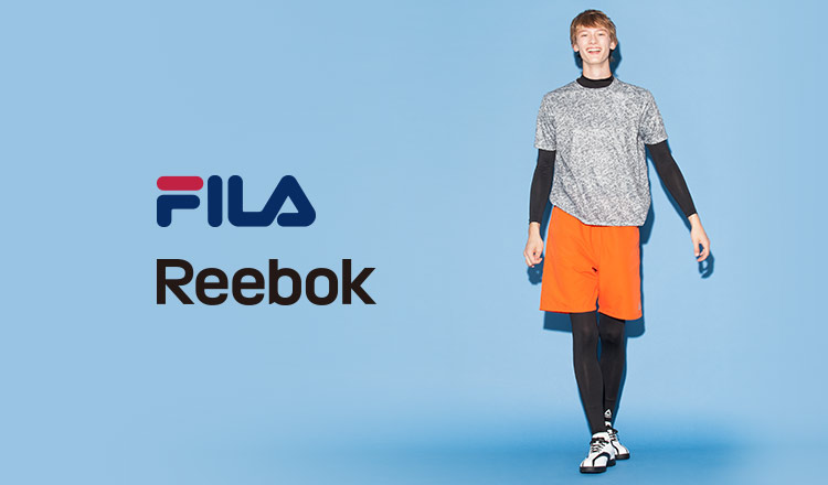 FILA/REEBOK RUNNNING SPORTS MEN