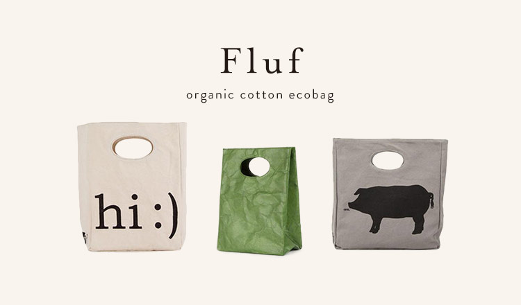Fluf  -organic cotton ecobag-