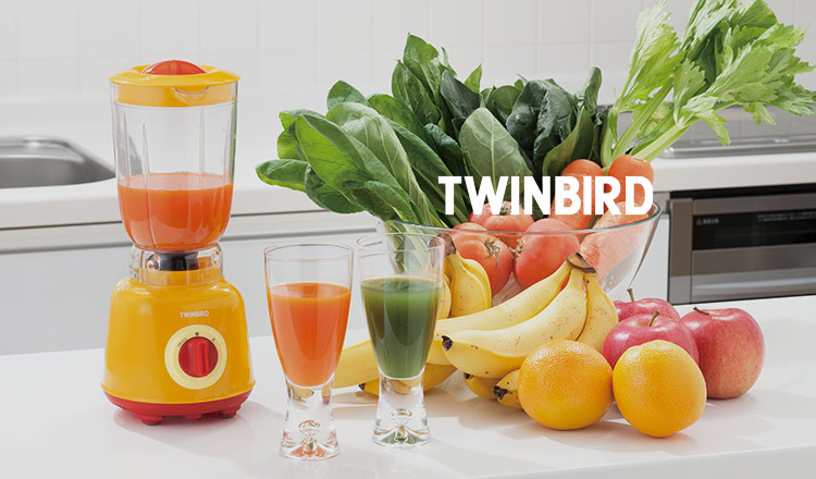 TWINBIRD -家族とすごす夏の家電特集-