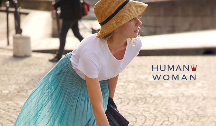 HUMAN WOMAN - MORE SALE-
