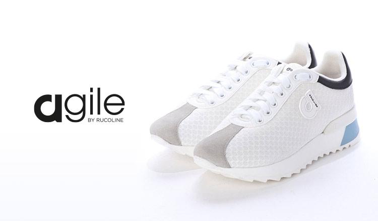 AGILE BY RUCOLINE -履きやすさを追求したイタリアシューズ-