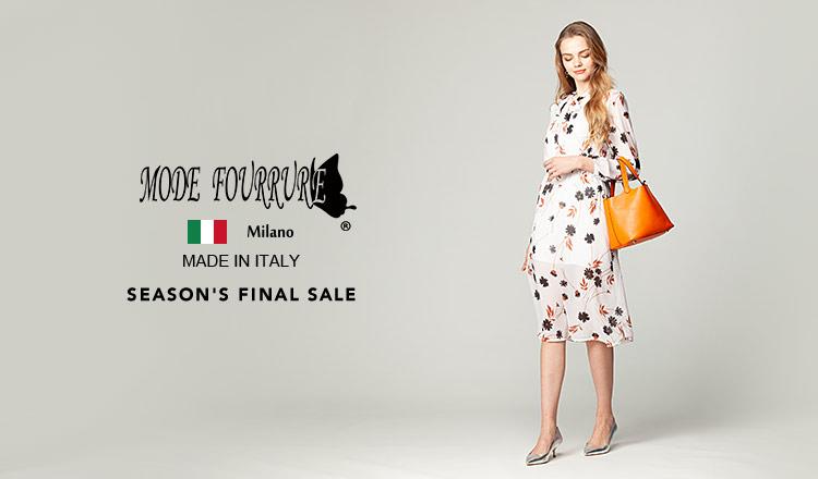 MODE FOURRURE Season's Final sale