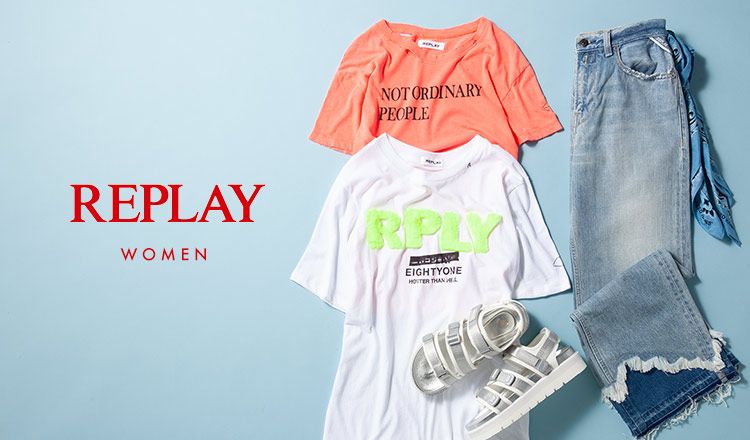 REPLAY WOMEN -max 90%off-