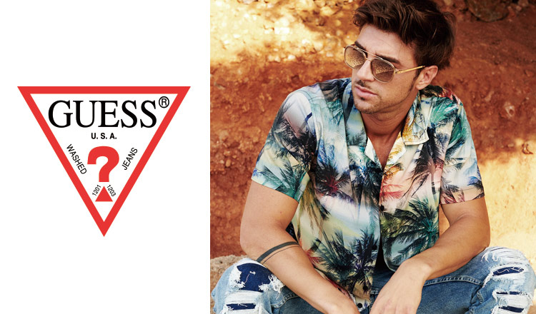 GUESS MEN : Up to 70%OFF