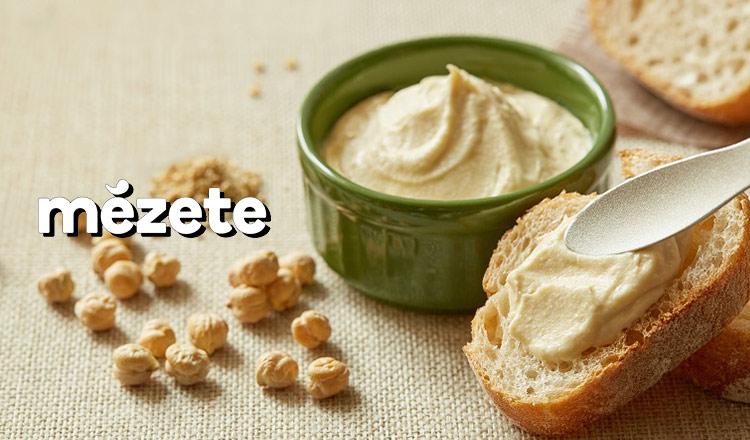 mezete -パンやクラッカーに合わせて食べたいフムス-