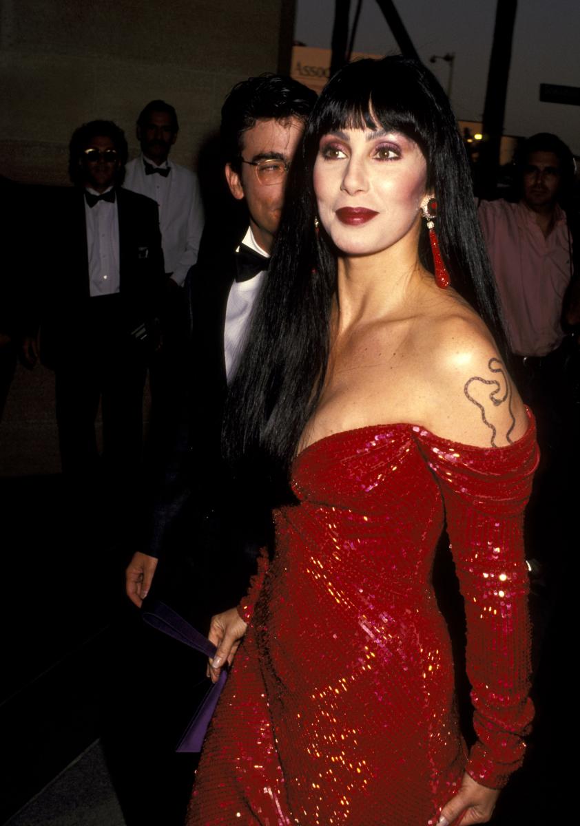 1991年頃のシェール。Photo:Getty Images