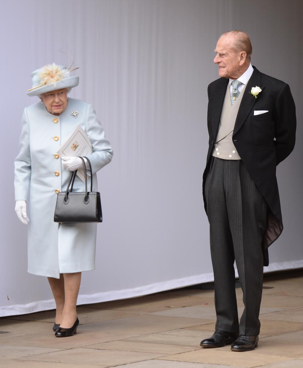 Photo:エリザベス女王とフィリップ皇太子